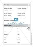 Stationentraining Familie: Arbeitsblätter mit Lösungen, Diktat Preview 3