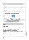 Stationentraining zum Wetter: Arbeitsblätter mit Lösungen, Diktat Preview 13