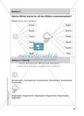 Stationentraining zum Wetter: Arbeitsblätter mit Lösungen, Diktat Preview 6