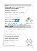 Stationentraining zum Wetter: Arbeitsblätter mit Lösungen, Diktat Preview 8