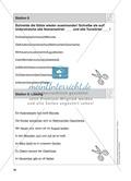 Stationentraining Jahr: Arbeitsblätter mit Lösungen, Diktat Preview 10