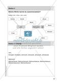 Stationentraining Jahr: Arbeitsblätter mit Lösungen, Diktat Preview 5