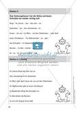 Stationentraining Jahr: Arbeitsblätter mit Lösungen, Diktat Preview 6