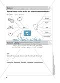 Stationentraining Ernährung: Arbeitsblätter mit Lösungen, Diktat Preview 5