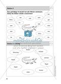 Stationentraining Hecke: Arbeitsblätter mit Lösungen, Diktat Preview 4