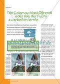 Tilki Çalışmayı Nasıl Öğrendi: Ein türkisches Märchen im Unterricht Preview 1