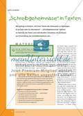 """""""Schreibgeheimnisse"""" in Texten entdecken und ergründen Preview 1"""