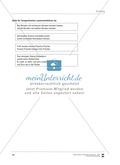 Unterrichtsbeispiel zu Zungenbrechern. Mit Arbeitsanweisungen, Arbeitsblätter und Lösungen. Thumbnail 4