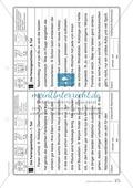 Die Feriengeschichte: Text und Bearbeitungsbogen Preview 4