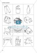 Lausch- und Reimaufgaben: Übungen und Spiele, Kopiervorlagen Preview 12