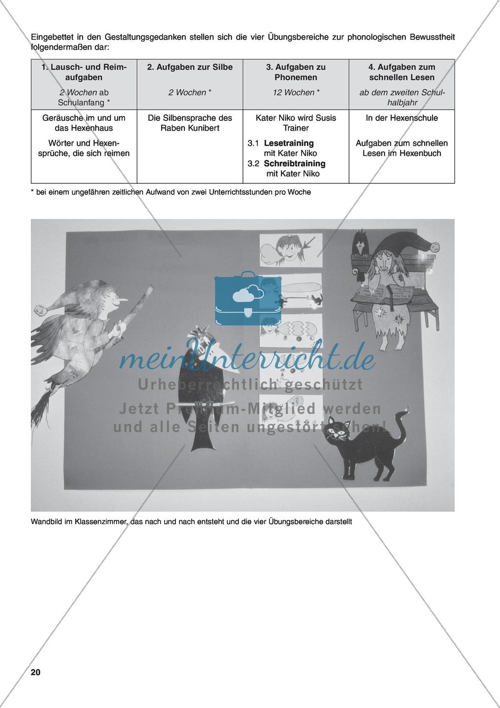 Aufgaben zur Silbe einschließlich Wortkonzept: Übungen, Spiele und Kopiervorlagen Preview 1