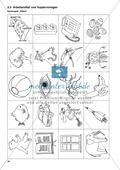 Aufgaben zur Silbe einschließlich Wortkonzept: Übungen, Spiele und Kopiervorlagen Preview 9
