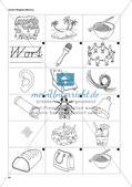 Bereich Aufgaben zu Phonemen: Kopiervorlagen zum Anlautmemory Preview 2