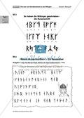Deutsch, Themenfelder, Schreiben, Sprache, Wikinger, Schreibprozesse initiieren, Sprachbewusstsein, Schriftspracherwerb, Schrift