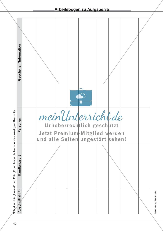 "Kurzgeschichten - Binnendifferenzung: ""Wolfgang Borchert: An diesem Dienstag"" - Einführung + Lesetext + Aufgaben Preview 9"