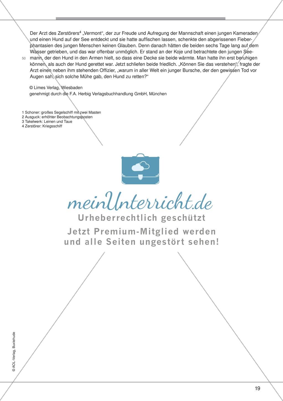 """Kurzgeschichten - Binnendifferenzung: """"William M. Harg: Der Retter"""" - Einführung + Lesetext + Aufgaben Preview 6"""