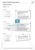 Mathematik, Zahlen & Operationen, Grundrechenarten, schriftliches Rechnen, Addition, Subtraktion, Division, Multiplikation