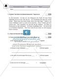 Satzzeichen, Redebegleitsätze: Klassenarbeit und Lösung Preview 1