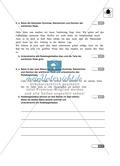 Satzzeichen, Redebegleitsätze: Klassenarbeit und Lösung Preview 2