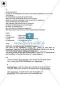 Satzzeichen, Redebegleitsätze: Klassenarbeit und Lösung Preview 3