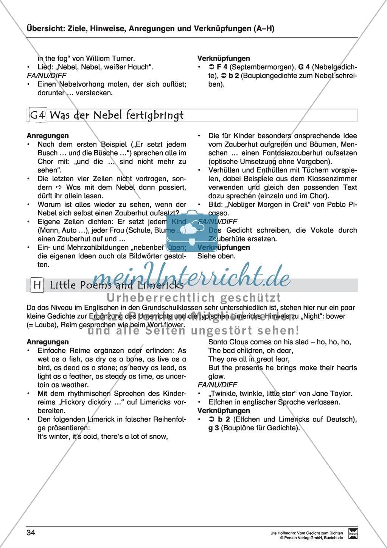 """Lyrische Texte - Gedichte lesen: """"Wetter - Cocktail"""" + Einführung Preview 5"""