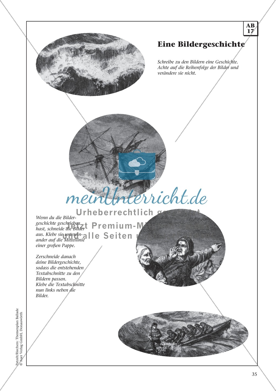 Balladen im Deutschunterricht: Themenplan inkl. Material (komplett) Preview 21