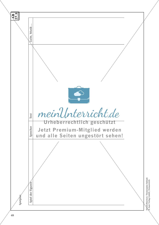 Balladen im Deutschunterricht: Themenplan inkl. Material (komplett) Preview 34