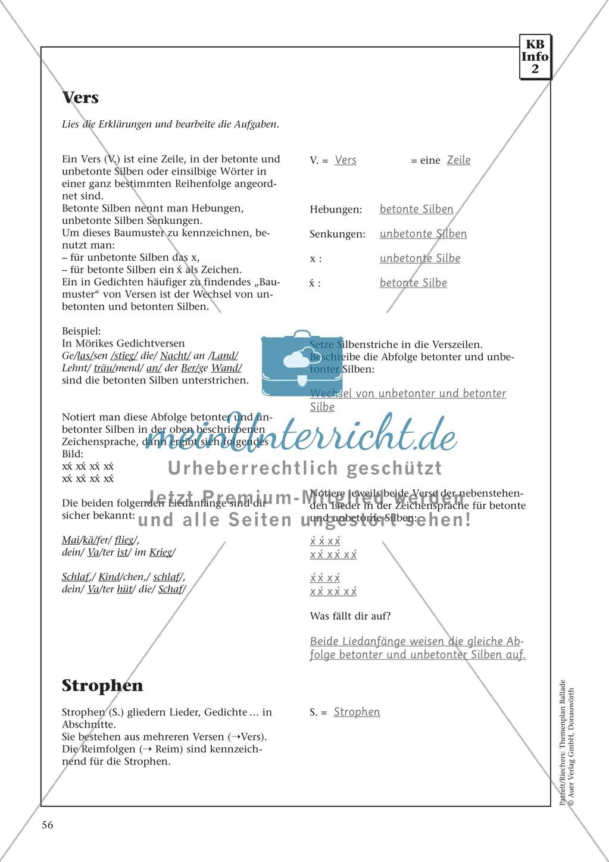 Balladen im Deutschunterricht: Themenplan inkl. Material (komplett) Preview 43