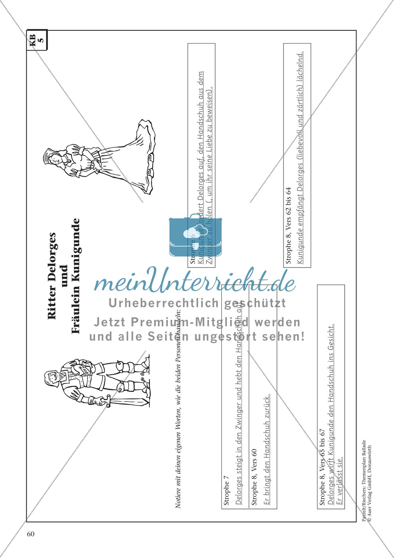 Balladen im Deutschunterricht: Themenplan inkl. Material (komplett) Preview 46