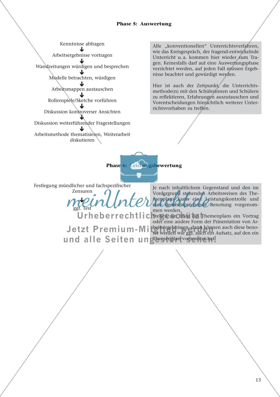 Offener Unterricht und Themenplanarbeit: fachdidaktischer Beitrag Preview 9
