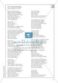 Deutsch_neu, Sekundarstufe II, Primarstufe, Sekundarstufe I, Literatur, Literarische Gattungen, Lyrik, Klassik, johann wolfgang goethe, Ballade