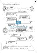 Interview mit schwierigen Wörtern: Übungsblatt Preview 1