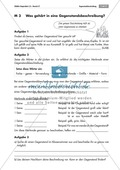 Deutsch, Schreiben, Produktion von Sachtexten, Gegenstandsbeschreibung, Beschreiben