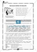 Synonyme verwenden: Übungen + Lösungen Preview 2