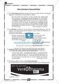 Verschiedene Sprachbilder verwenden: Übungen + Lösungen Preview 2
