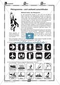 Piktogramme erkennen: Übungen + Lösungen Preview 2