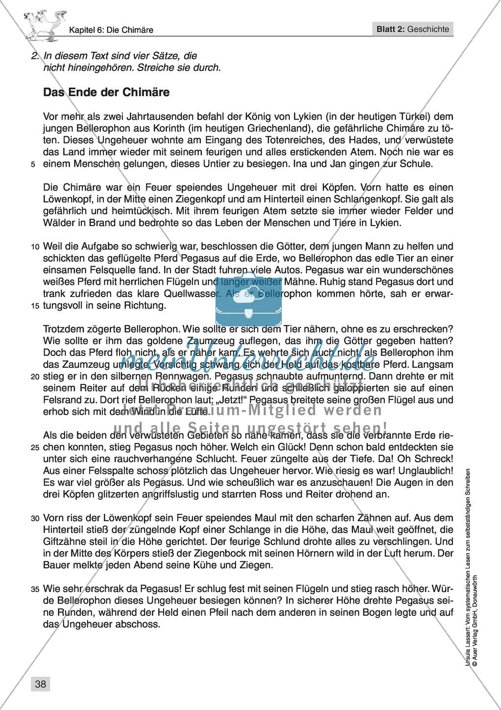 Vom systematischen Lesen zum selbstständigen Schreiben: Texte von Fabelwesen Preview 35