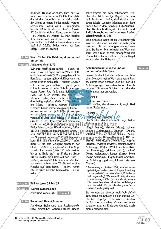 Einüben der 100 häufigsten Fehlerwörter - Wort 51-62: Arbeitsblätter + Erläuterung Preview 6