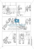 Deutsch_neu, Deutsch, Primarstufe, Sekundarstufe I, Sekundarstufe II, Sprache, Literatur, Medien, Schreiben, Grammatik, Rechtschreibung und Zeichensetzung, Sprachbewusstsein, Umgang mit fiktionalen Texten, Umgang mit Medien, Schreibverfahren, Wortarten, Zusammen- und Getrenntschreibung, Satzarten, Sprachstil, Gattungen, Pragmatisches Schreiben, Zusammengesetzte Substantive, Satzanfänge variieren, Bildergeschichte, Erzählen, ausdrucksförderung