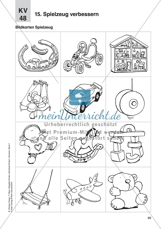 Texte verfassen/Kreatives Schreiben - Spielzeug verbessern: Erläuterung + Übungen Preview 2