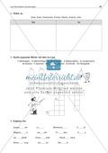 Laut-Buchstaben-Zuordnung: Wörter mit ks-Laut: Arbeitsblatt + Lösung Preview 2