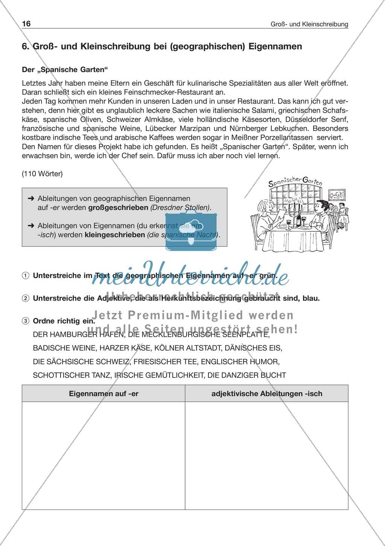 Enchanting Eigenname Arbeitsblatt Ideas - Mathe Arbeitsblatt ...