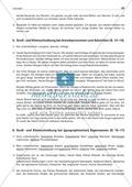 Groß- und Kleinschreibungbei Anredepronomen + Adverbien: Arbeitsblatt + Lösung Preview 3