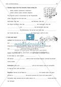 Groß- und Kleinschreibung: Substantivierte Verben + Adjektive: Arbeitsblatt + Lösung Preview 2