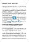 Groß- und Kleinschreibung: Substantivierte Verben + Adjektive: Arbeitsblatt + Lösung Preview 3