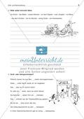 Groß- und Kleinschreibung: Substantivierte Adjektive + Zahlwörter: Arbeitsblatt + Lösung Preview 2