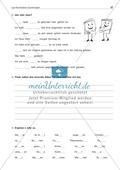 Laut-Buchstaben-Zuordnung: Wörter mit ss: Arbeitsblatt + Lösung Preview 2