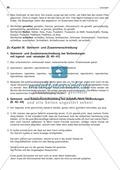 Getrennt- und Zusammenschreibung von Adjektiv/Verb-Verbindungen: Arbeitsblatt + Lösung Preview 3