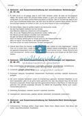 Getrennt- und Zusammenschreibung bei Substantiv/Verb-Verbindungen: Arbeitsblatt + Lösung Preview 3