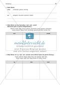Wortbildung - Wörter mit Vor- und Nachsilben: Arbeitsblatt + Lösung Preview 2